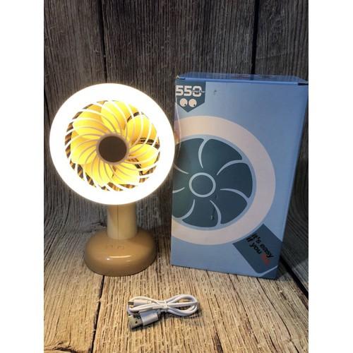 Quạt Mini có đèn led 550 - 10853893 , 11525352 , 15_11525352 , 155000 , Quat-Mini-co-den-led-550-15_11525352 , sendo.vn , Quạt Mini có đèn led 550