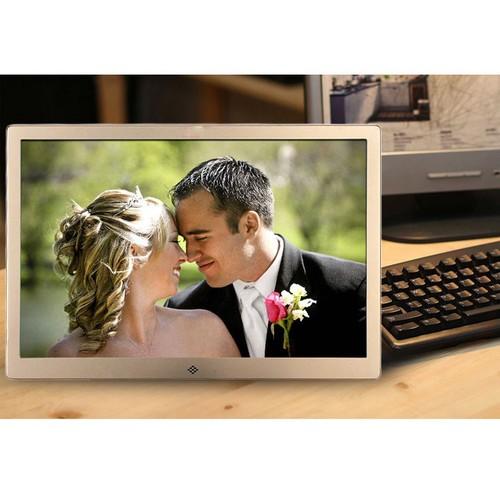 Khung ảnh kỹ thuật số 15 inch độ phân giải HD, xem phim, nghe nhạc