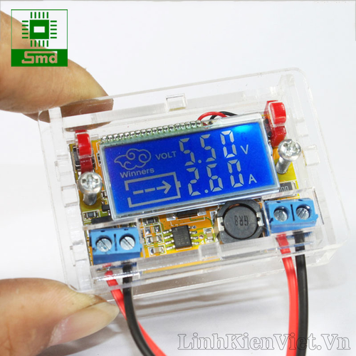 Module nguồn hạ áp hiển thị AV màn hình LCD Vin 5V-23VDC