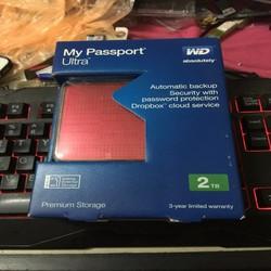 Ổ Cứng Di Động WD My Passport Ultra 2TB 2.5 inch Mới BH 3 Năm