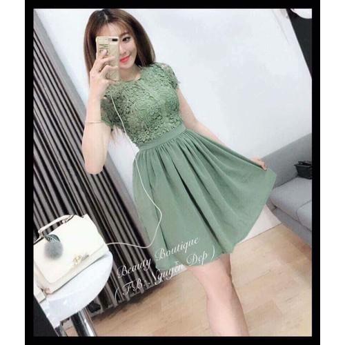 Đầm ren cực xinh