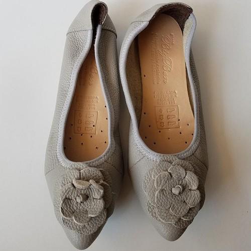 Giày Nữ Búp Bê Da Bò - JZ0602