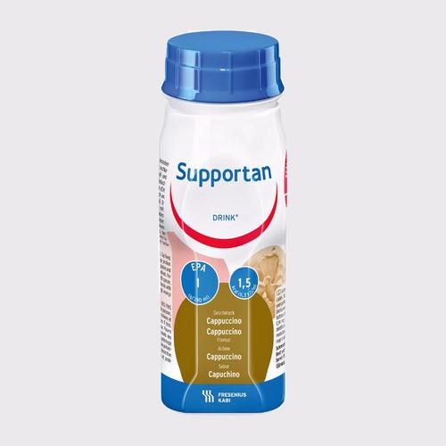 Sữa Supportan Drink Cappuccino 200ml Lốc 4 chai