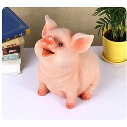 Lợn sứ 3D tiết kiệm tiền- Heo đất tiết kiệm - lợn đất
