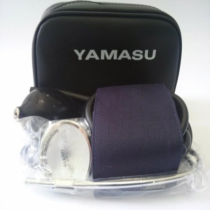 Máy đo huyết áp cơ Yamasu kèm tai nghe chính hãng