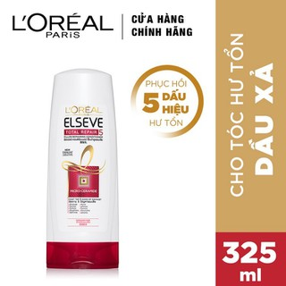 Dầu Xả LOreal Paris Elseve Total Repair 5 Repairing Conditioner 325ml - 8992304028205 thumbnail