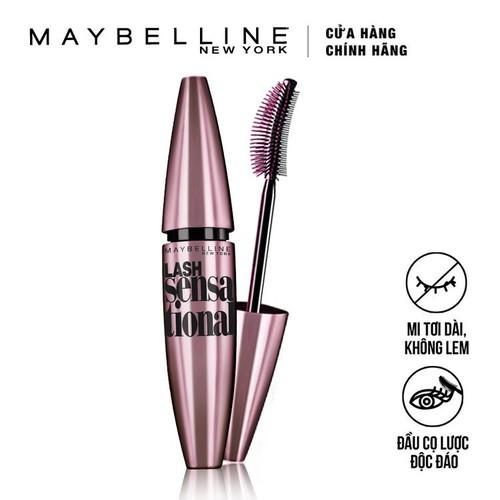 Mascara Làm Tơi Mi Maybelline Lash Sensational - Đen 10ml