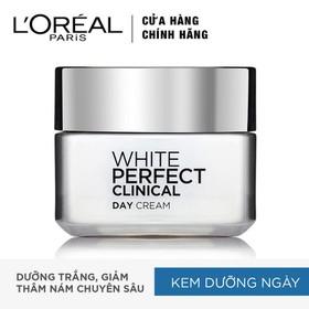 Kem Dưỡng Da Trắng Mịn Và Giảm Thâm Nám Ban Ngày L'Oreal Paris White Perfect Clinical SPF19 50ml - 8992304024467