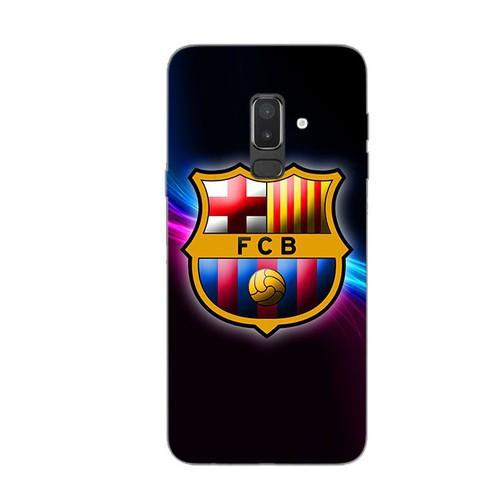 Ốp lưng điện thoại samsung galaxy j8 - clb barcelona