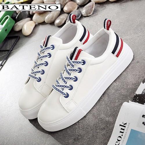 Giày Thể Thao Nữ Sneaker Kẻ Sọc KS1