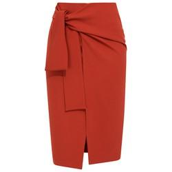 De Leah - Chân Váy Midi Buộc Nơ - Thời trang thiết kế
