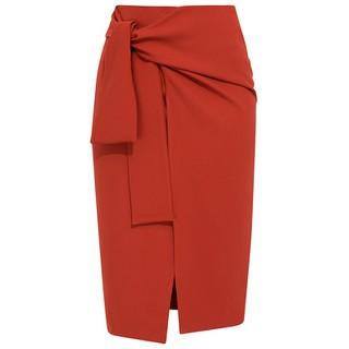 De Leah - Chân Váy Midi Buộc Nơ - Thời trang thiết kế - Z1625111Cn thumbnail