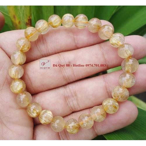 Vòng tay phong thủy đá thạch anh tóc vàng thiên nhiên 10mm - 10855569 , 11539582 , 15_11539582 , 380000 , Vong-tay-phong-thuy-da-thach-anh-toc-vang-thien-nhien-10mm-15_11539582 , sendo.vn , Vòng tay phong thủy đá thạch anh tóc vàng thiên nhiên 10mm