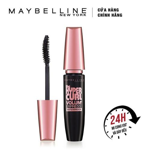 Mascara làm cong mi maybelline hyper curl đen 9.2ml