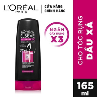 Dầu Xả LOreal Paris Elseve Fall Resist 3X Conditioner 165ml - 6946537047467 thumbnail