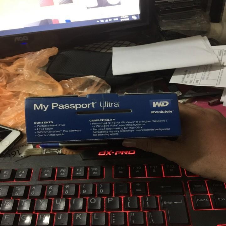 Ổ Cứng Di Động WD My Passport Ultra 2TB New BH 3 Năm 9