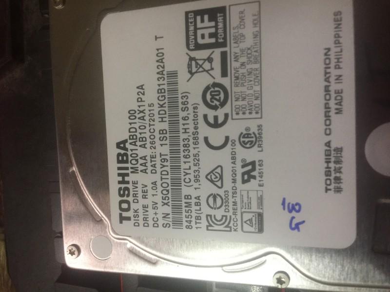Ổ Cứng Laptop HDD Tooshiba 1000G Sata 3 5400RPM BH 6 Tháng 4