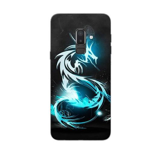 Ốp lưng điện thoại samsung galaxy j8 - dragon 03
