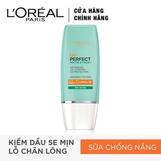 Kem Chống Nắng L Oreal Paris UV Perfect Aqua Essence SPF50+ PA++++ 30ml - 8992304083921 thumbnail