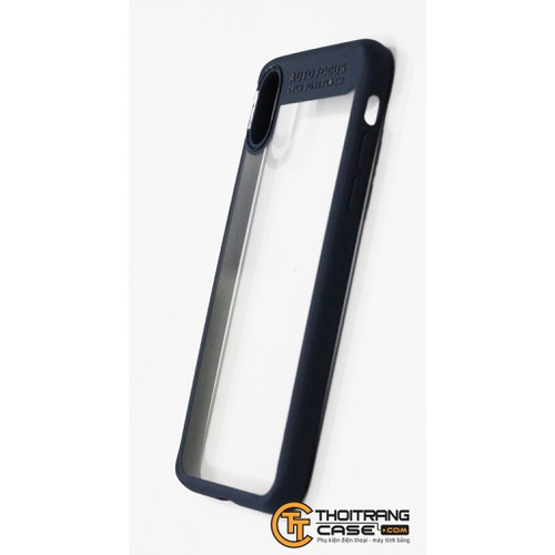 Ốp Lưng Iphone X trong suốt hiệu AUTO FOCUS