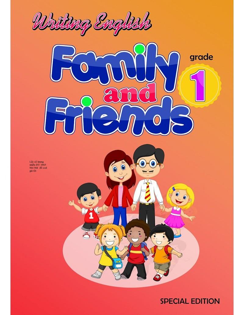 Writing English Family and Friend Grade 1 I Vở luyện viết từ vựng 5