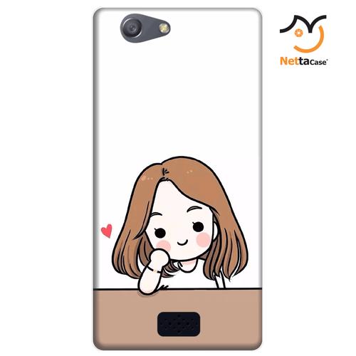 Ốp lưng điện thoại Oppo Neo 5 - Couple Girl 03