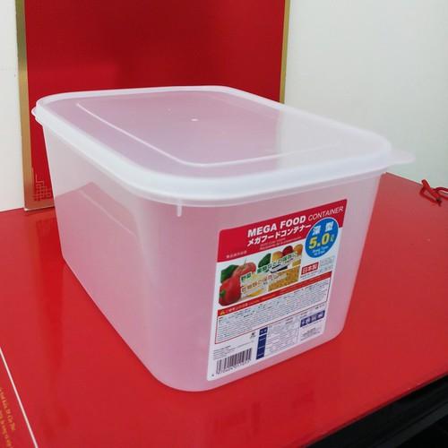 Hộp nhựa đựng thực phẩm trong suốt có nắp lớn 5 lít Nhật sx. D055 - 5240591 , 11577137 , 15_11577137 , 60000 , Hop-nhua-dung-thuc-pham-trong-suot-co-nap-lon-5-lit-Nhat-sx.-D055-15_11577137 , sendo.vn , Hộp nhựa đựng thực phẩm trong suốt có nắp lớn 5 lít Nhật sx. D055