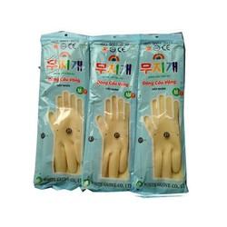 Găng tay cao su loại dài tay