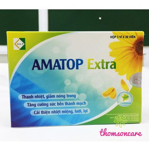 Amatop Extra TPCN giảm nhiệt miệng, nóng trong người - 5231543 , 11570409 , 15_11570409 , 85000 , Amatop-Extra-TPCN-giam-nhiet-mieng-nong-trong-nguoi-15_11570409 , sendo.vn , Amatop Extra TPCN giảm nhiệt miệng, nóng trong người
