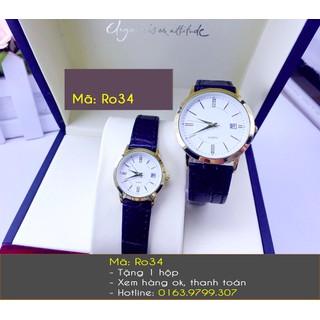 Đồng hồ đôi dây da cao cấp - 451 thumbnail