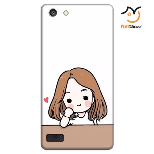 Ốp lưng điện thoại Oppo Neo 7 - Couple Girl 03