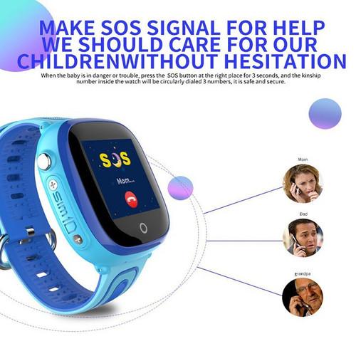 Đồng hồ định vị trẻ em , có camera DF31G