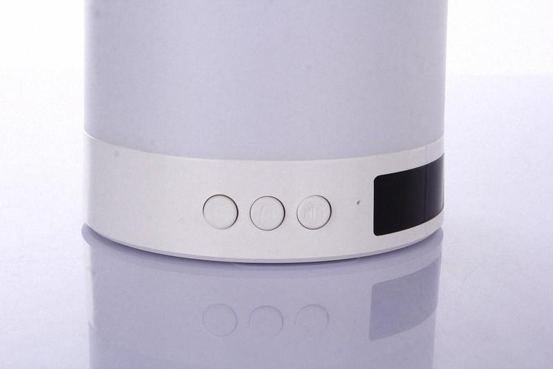 Loa Bluetooth Cao cấp hiển thị giờ kiêm đèn ngủ PKCB-66+ 6