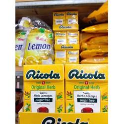 Kẹo thảo mộc tự nhiên Original hiệu Ricola hộp 40g