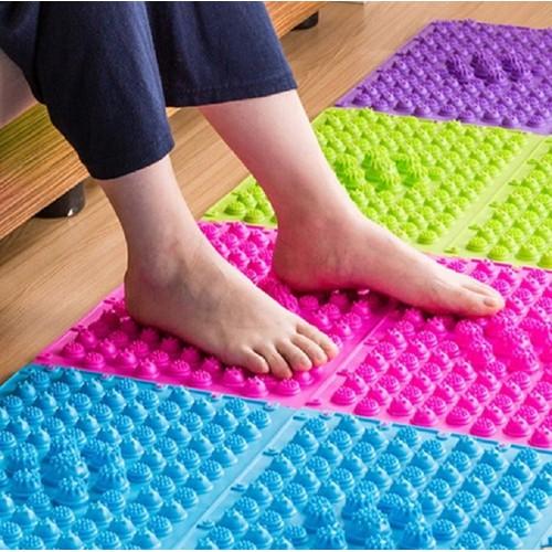 Combo 2 thảm lau chân massage tiện lợi