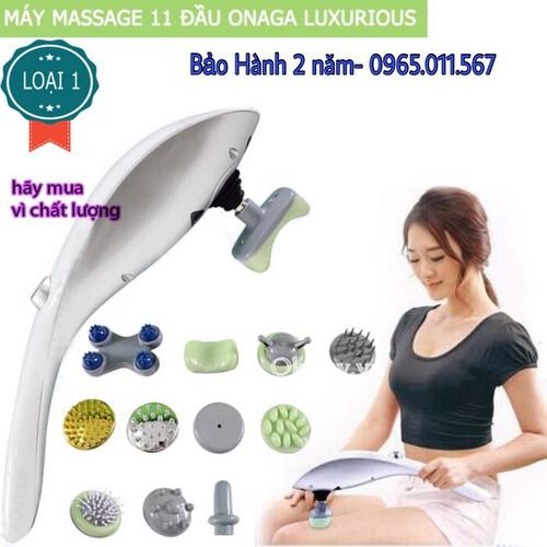 Máy massage cầm tay 11 đầu Luxurious Massager hàng nhập khẩu - 5246287 , 11581362 , 15_11581362 , 480000 , May-massage-cam-tay-11-dau-Luxurious-Massager-hang-nhap-khau-15_11581362 , sendo.vn , Máy massage cầm tay 11 đầu Luxurious Massager hàng nhập khẩu