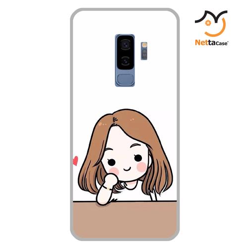 Ốp lưng điện thoại Samsung S9 Plus - Couple Girl 03
