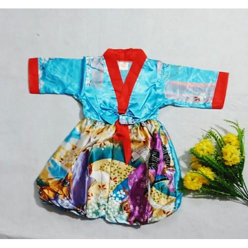 Đầm hanbok bé gái