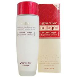 Nước Hoa Hồng Dưỡng Trắng 3W Clinic Collagen Softener 150ml
