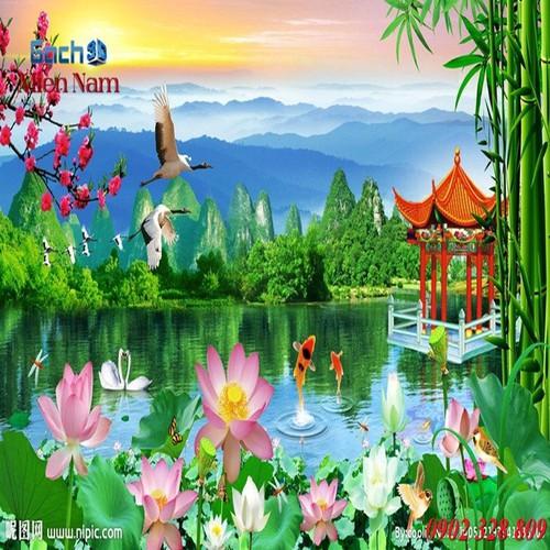 Gạch tranh 3d mẫu hoa sen HS32 - 5246121 , 11580956 , 15_11580956 , 1195000 , Gach-tranh-3d-mau-hoa-sen-HS32-15_11580956 , sendo.vn , Gạch tranh 3d mẫu hoa sen HS32