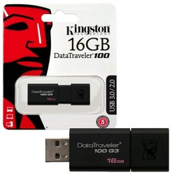 USB Kington 16GB 3.0 DT100G3 - usb kington 16g 3.0