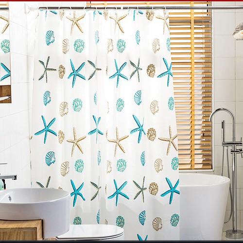Bộ rèm nhà tắm cao cấp  - Rèm che nhà tắm chống thấm nước
