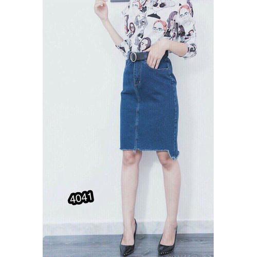 Chân váy jean dài phong cách - 6414014 , 13034693 , 15_13034693 , 125000 , Chan-vay-jean-dai-phong-cach-15_13034693 , sendo.vn , Chân váy jean dài phong cách