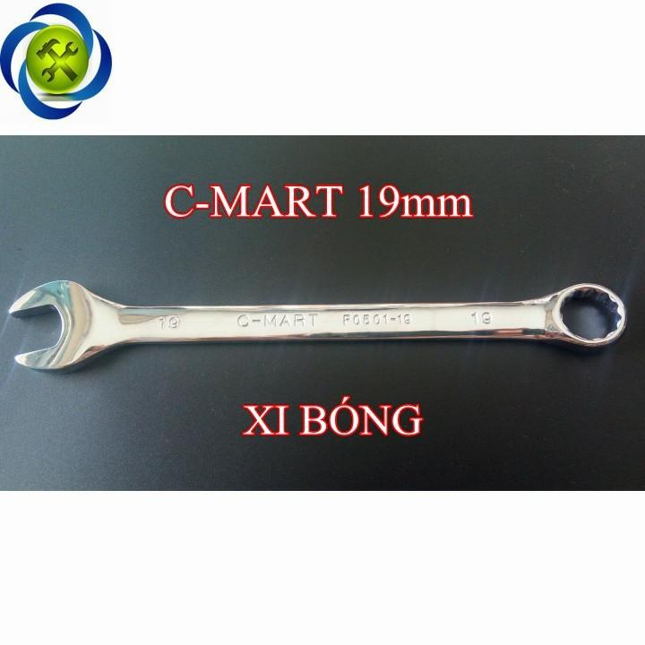 Cờ lê C-MART F0501-19 19mm xi bóng 1
