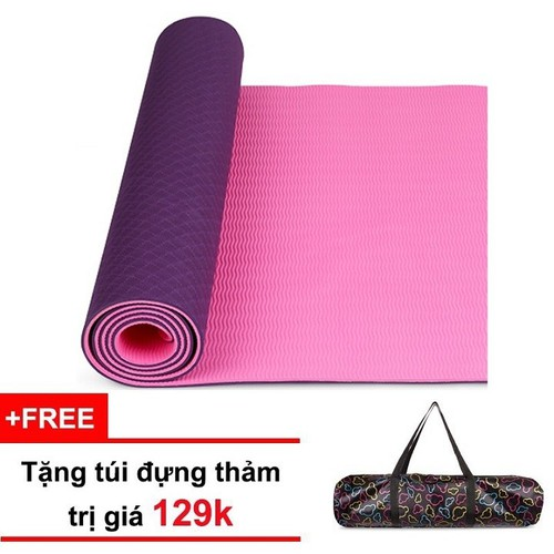 Thảm tập yoga TPE 2 lớp 6mm có tặng kèm túi đựng thảm loại xịn - 5240220 , 11576716 , 15_11576716 , 290000 , Tham-tap-yoga-TPE-2-lop-6mm-co-tang-kem-tui-dung-tham-loai-xin-15_11576716 , sendo.vn , Thảm tập yoga TPE 2 lớp 6mm có tặng kèm túi đựng thảm loại xịn