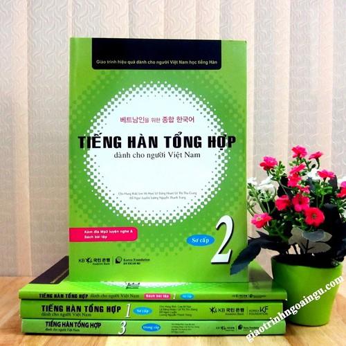 Sách Tiếng Hàn tổng hợp Sơ cấp 2 Sách Bài học - Kèm CD