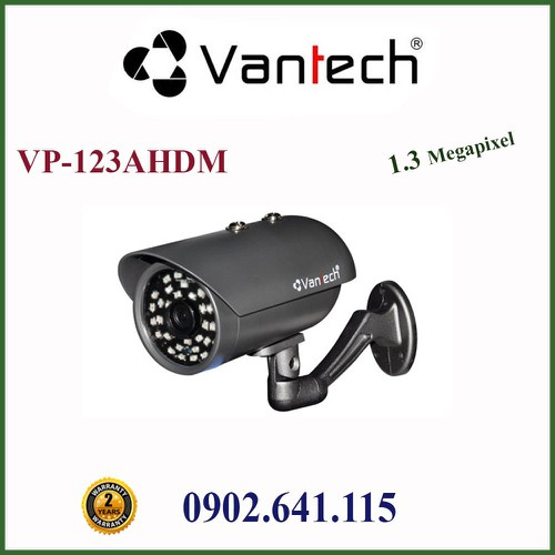 CAMERA HDCVI HỒNG NGOẠI 1.3MP VP-123AHDM VANTECH