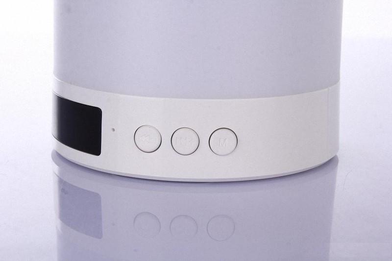 Loa Bluetooth Cao cấp hiển thị giờ kiêm đèn ngủ PKCB-66+ 7