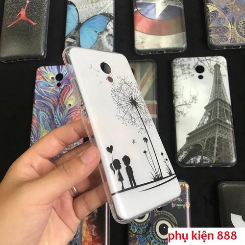 Ốp lưng Meizu M5C silicon họa tiết nhiều hình