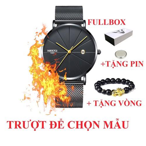 Đồng hồ nam doanh nhân Nibosi dây thép nhuyễn không gỉ - 5232947 , 11571615 , 15_11571615 , 600000 , Dong-ho-nam-doanh-nhan-Nibosi-day-thep-nhuyen-khong-gi-15_11571615 , sendo.vn , Đồng hồ nam doanh nhân Nibosi dây thép nhuyễn không gỉ